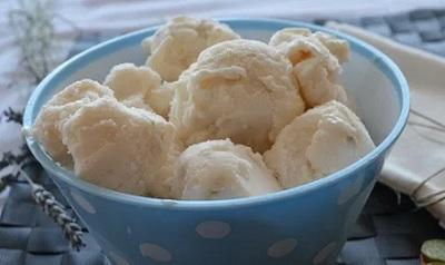 Cómo hacer helado de kéfir