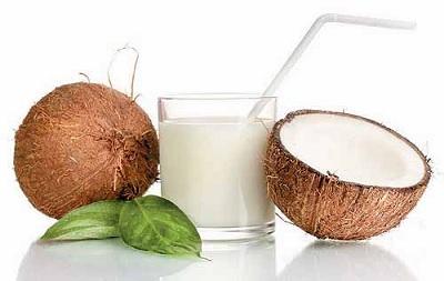 Receta kefir de coco