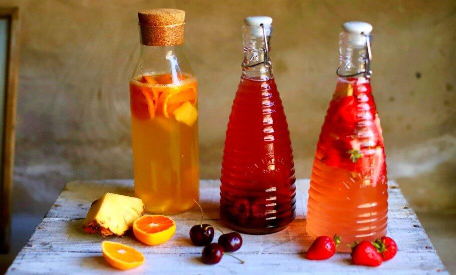 Kéfir de agua y sabores